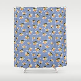 airplane rides-fifty cents Shower Curtain