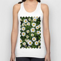 daisies Tank Tops featuring Daisies by Mauricio Togawa