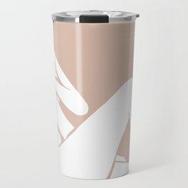 tan abstract nude 1 Travel Mug