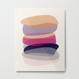 Modern minimal forms 4 Metal Print