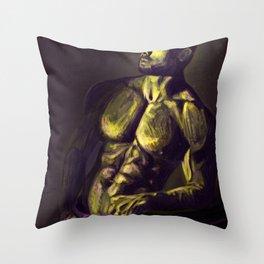 Shameless In Neon Throw Pillow