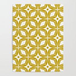 Starburst - Gold Poster