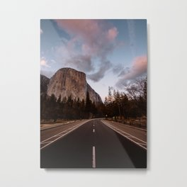 El Capitan Sunset Metal Print
