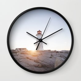 Peggy's Cove Wall Clock