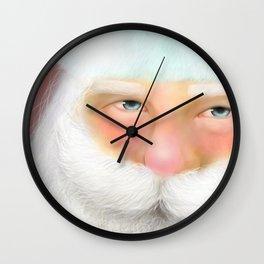 santas time Wall Clock