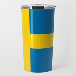 Flag of Sweden - Authentic (High Quality Image) Travel Mug