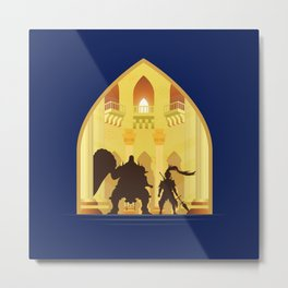 Ornstein and Smough (Dark Souls) Metal Print