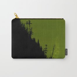 Into The Woods - Forest Landscape - Green Carry-All Pouch