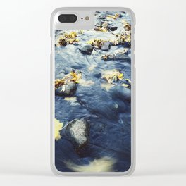 Autumn Leaves, Color Film Photo, Analog Clear iPhone Case