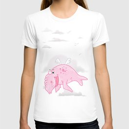 Elephant Seal In The Sky T-shirt
