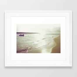 return from the sea Framed Art Print