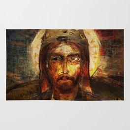A Portrait of Christ Rug