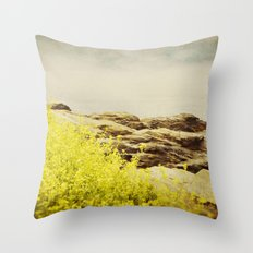 Sea Swept Throw Pillow
