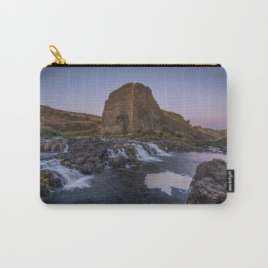 Palouse Falls - Waterfall Sunset Carry-All Pouch