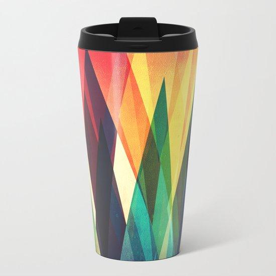 Mountain Sunset Metal Travel Mug