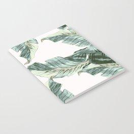 Tropical Banana Leaves Notebook