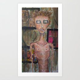 tv eyes Art Print