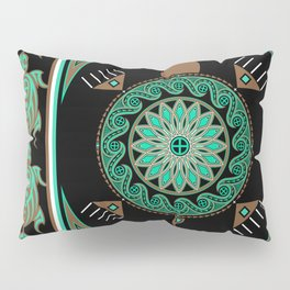 Green Turtle Pillow Sham