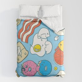 Most Important Meal of the Day Duvet Cover