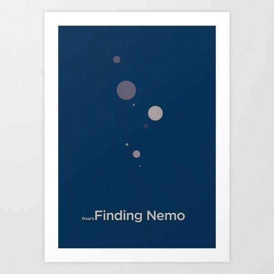 Pixar's Finding Nemo Art Print