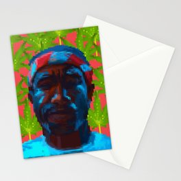 Frank  fanart with pixels Stationery Cards