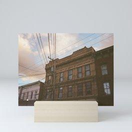 Saugerties at Sunset Mini Art Print