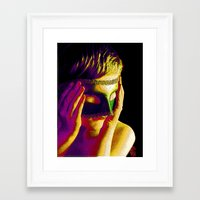 anonymous Framed Art Prints featuring Anonymous  by Dream Realm Photography and Art
