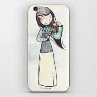 mulan iPhone & iPod Skins featuring Mulan by malipi