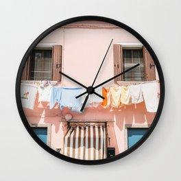 Burano, IV Wall Clock