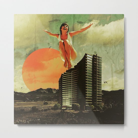 """Flying High"" Metal Print"