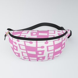 Mid Century Modern Abstract 213 Pink Fanny Pack