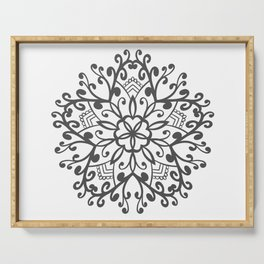 A Beautiful Star with a Pattern style Fashion Modern Design Print! Serving Tray