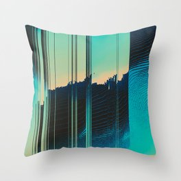 Ripped Apart Throw Pillow