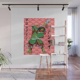 Japanese Samurai Frog Tattoo Design Traditional T-Shirt Wall Mural