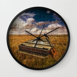 A Discarded Sound Wall Clock