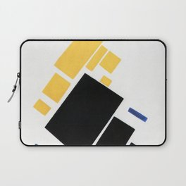 Airplane by Kazimir Malevich - Vintage Painting Laptop Sleeve