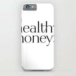 2020 Healthy Honeys Logo  iPhone Case