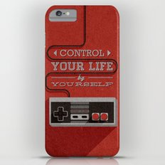 Control your life by yourself iPhone 6 Plus Slim Case