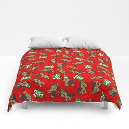 Merry Yorkies Comforters