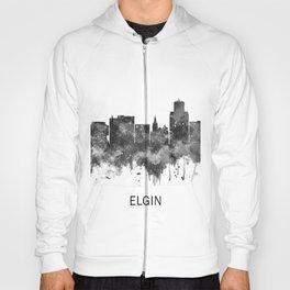 Elgin Illinois Skyline BW Hoody