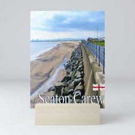 Seaton Carew, England Mini Art Print