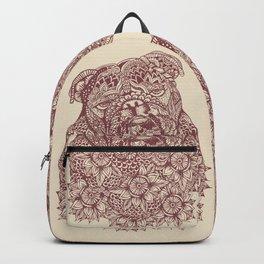 MANDALA OF ENGLISH BULLDOG Backpack
