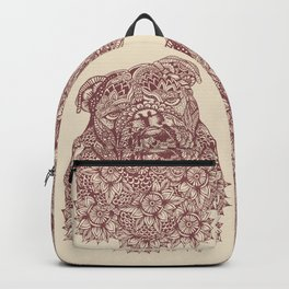 MANDALA OF ENGLISH BULLDOG Backpack