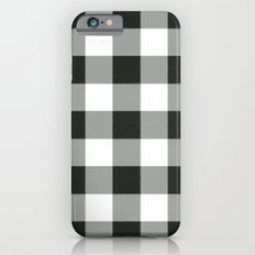 Buffalo Check in black Slim Case iPhone 6s