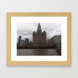 Liverpool by FGW Framed Art Print