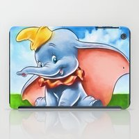 dumbo iPad Cases featuring Dumbo by DisPrints