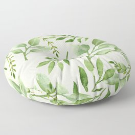Seasonal Leaves Floor Pillow