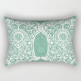 Arsenic and Clock Lace Rectangular Pillow