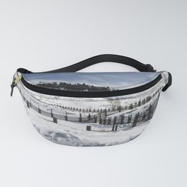 Carol M Highsmith - Snow Covered Hills Fanny Pack