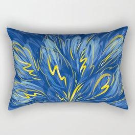 Blue thunderstorm Rectangular Pillow